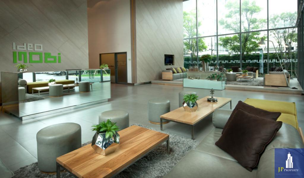คอนโด IDEO MOBI SUKHUMVIT อยู่ชั้น 15 อาคาร B ใกล้ BTS อ่อนนุช