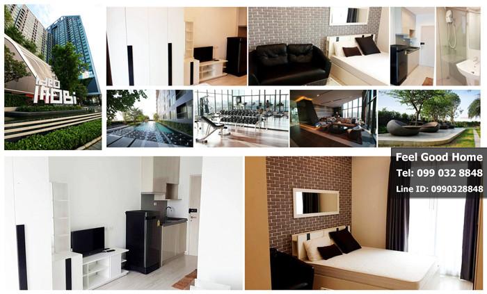 คอนโดให้เช่า Ideo Mobi Sukhumvit Eastgate (ใกล้ BTSบางนา เพียง 150 ม.) ห้องสวยใหม่ พร้อมอยู่!!!!