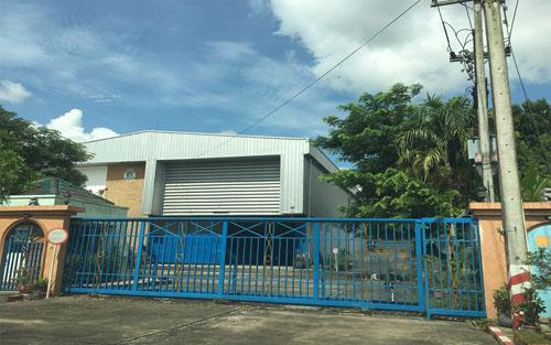 ขายที่ดินและโรงงานใหญ่ ติดถนน 4082 อ.บ้านบึง จ.ชลบุรี
