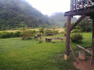 HOME STAY 10 UNITS FOR LEASE LONG TERM ON THE TOP HILL MOUNTAIN CHIANG MAI