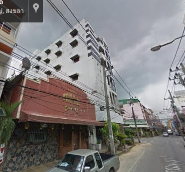 ขายอาคารโรงแรมและภัตตาคาร ตึก 8 ชั้น ย่านใจกลางเมืองหาดใหญ่ ใกล้แหล่งท่องเที่ยว