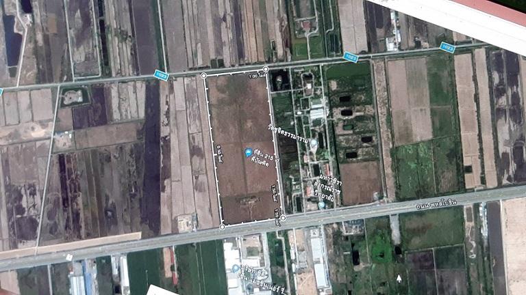 ขาย ที่ดินแปลงสวย 215 ไร่ ติดถนนพหลโยธิน (ทล 1) กรุงเทพ-สระบุรี ตรงข้ามโรงงานนาฬิกา ซิติเซ่น กว้าง 350 เมตร ถ.พหลโยธิน ตำบล ชะแมบ อำเภอ วังน้อย จ.อยุธยา