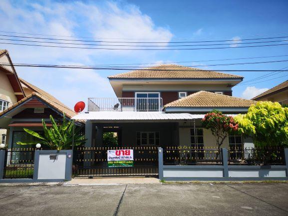 บ้านเดี่ยว 2 ชั้น หมู่บ้านเติมทรัพย์ตัวเมืองระยอง