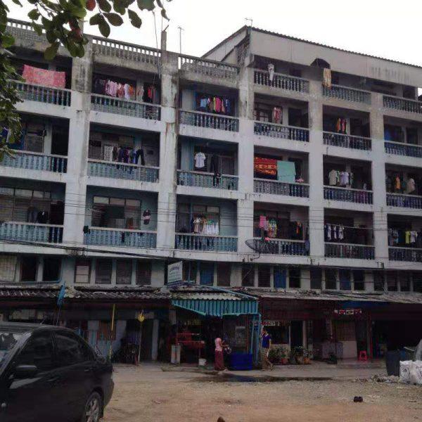 อาคารพาณิชพร้อมที่ดิน 7 คูหา ซอยบางขุนเทียน 14