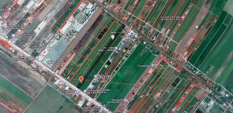 ขายถูก ที่ดิน 29-3-14 ไร่ ติดถนนสุวินทวงศ์ กว้าง 40 ม. ด้านหลังติดคลองนครเนื่องเขต ลึก 1 กม. อยู่หลัก กม.59 ต.คลองนครเนื่องเขต อ.เมือง จ.ฉะเชิงเทรา