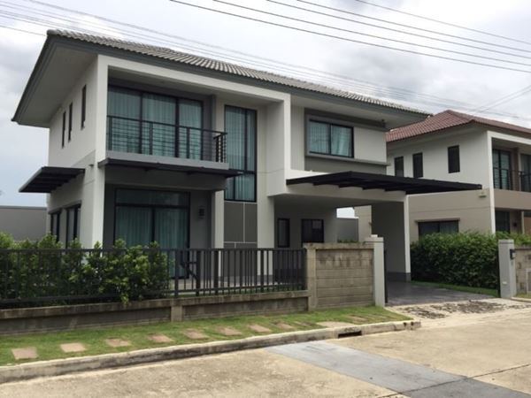 ขายด่วน! บ้านเดี่ยว 2 ชั้น คุ้มกว่าซื้อบ้านใหม่ ตกแต่งพร้อม บรรยากาศร่มรื่น หมู่บ้านคาซ่า วิลล์ รามอินทรา-วงแหวน 2