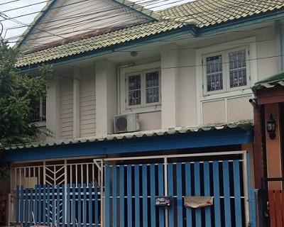 ขายด่วน ขายทาวน์เฮ้าส์ 2 ชั้น 18 ตร.ว หมู่บ้านพฤกษา 25 ถ.กาญจนาภิเษก นนทบุรี
