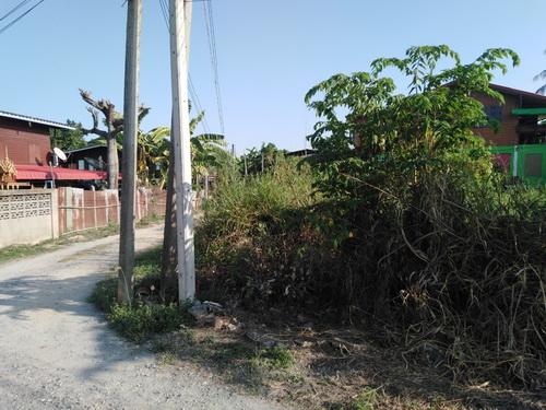 ที่ดินเปล่าถมแล้ว 124 ตรว ต.บางมัญ อ.เมือง จ.สิงห์บุรี