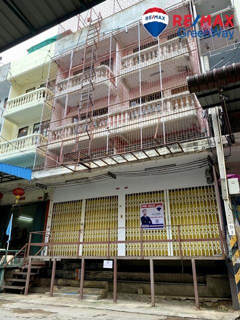 ขายอาคารพาณิชย์ พระราม2  อมรชัย4 2คูหา มีลิฟท์ เหมาะทำโกดังและโรงงาน