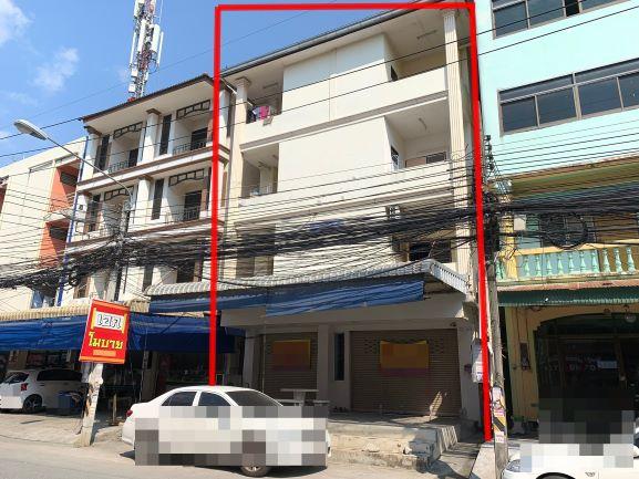 อาคารพาณิชย์ 2 คูหาพร้อมกิจการห้องเช่า หลังตลาดพระพรหมเครือสหพัฒน์
