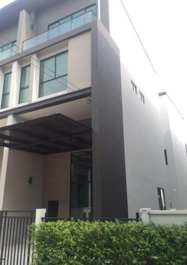 ขายบ้านทาวน์โฮม 3.5 ชั้น บ้านกลางเมืองวิภาวดี 64 หลังมุม บ้านสวยน่าอยู่