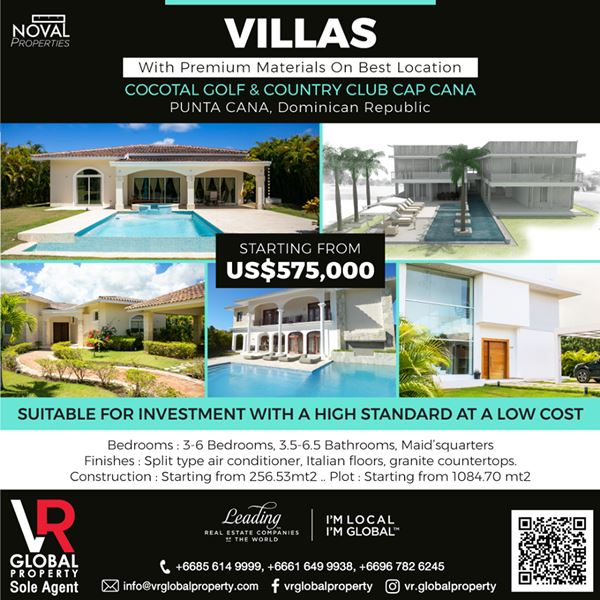 Villas with Premium Materials on Best Locations in the Caribbean