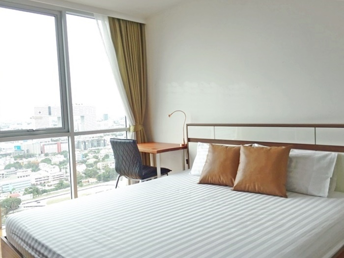 Abstracts Phahonyothin Park for rent or sale, 1+1 br, 50 sqm