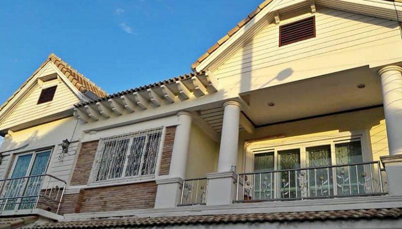 ให้เช่าบ้านเดี่ยว 2 ชั้น ซอยรามคำแหง 68 บ้านสวย มีเฟอร์ พร้อมอยู่ ใกล้เดอะมอลล์บางกะปิ ม.ราม