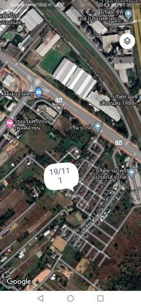 บ้านชั้นเดียวเลขที่ 19/111 หมู่4 ตำบลป่าสัก อำเภอเมือง จ.ลำพูน