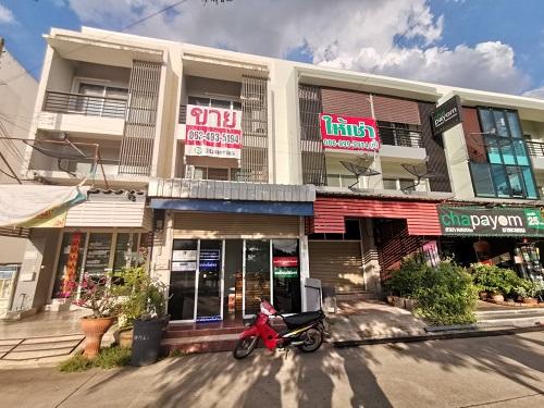 LP004 ขายอาคารพาณิชย์ติดถนน ใกล้ตลาดไท ค้าขายได้