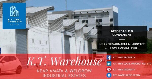 Warehouse/factory for rent Near Suvarnabhumi international airport,