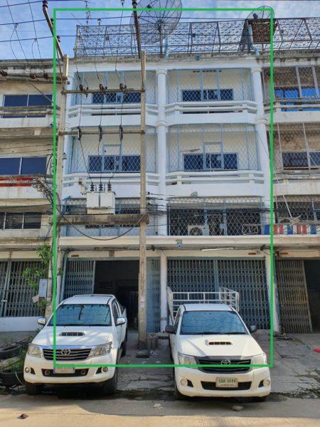 อาคารพาณิชย์ 3 ชั้นครึ่ง 2 คูหาตีทะลุถึงกัน เหมาะทำโรงงาน+ออฟฟิส+ที่พัก โครงการ : วิเศษสุขนคร