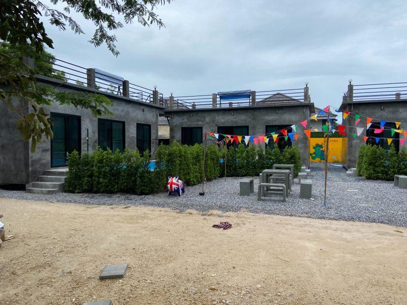 กิจการ pool villa & resort สร้างใหม่ style loft จ.ระยอง