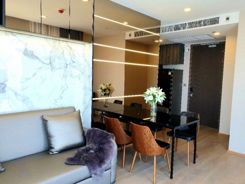 ให้เช่าคอนโด Ashton Chula-Silom ห้องบิ้วอินตกแต่งสวยหรูพร้อมเครื่องใช้ไฟฟ้าครบครัน