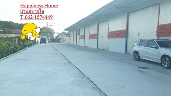 โกดังใหม่ให้เช่า 280 ตรม. ทำเลดี กลางเมืองปทุมธานี ย่านถนน 345  T. 062-1574449