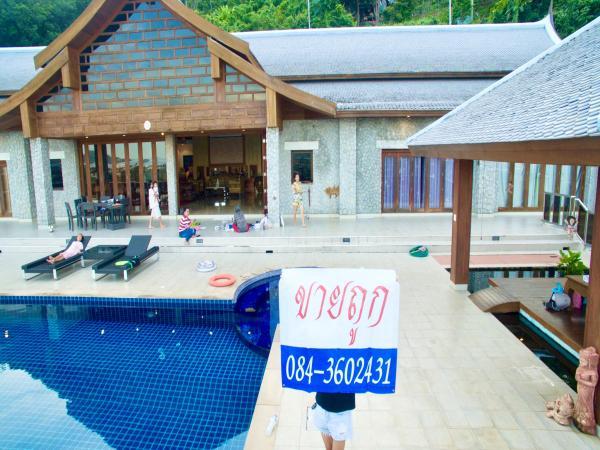 ขายด่วน บ้านพักตากอากาศหรู เป็นพูลวิลล่าทรงไทย@ฉลอง อ.เมือง จ.ภูเก็ต อยู่บนเขาซีวิว เห็นอ่าวฉลองแบบ 180องศา