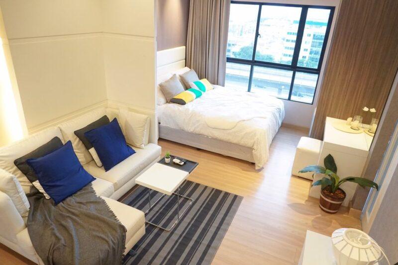 ขาย/ให้เช่า Urbano Absolute Sathorn-Taksin ใกล้ BTS กรุงธนบุรี ห้องสวยตกแต่งใหม่พร้อมเข้าอยู่