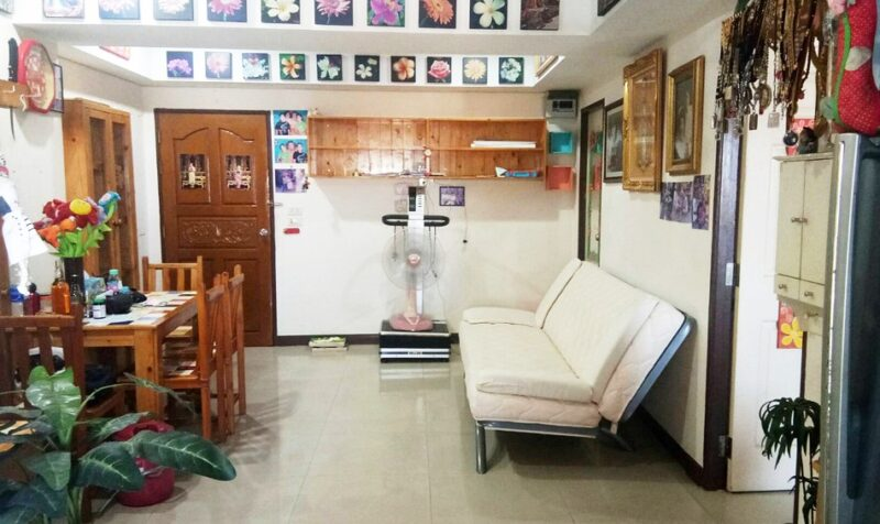 คอนโด ปิ่นเกล้า พาวิลเลี่ยน ใกล้รถไฟฟ้า MRT บางยี่ขัน 57 ตร.ม 2 ห้องนอน ชั้น5 ห้องมุม เฟอร์ครบ