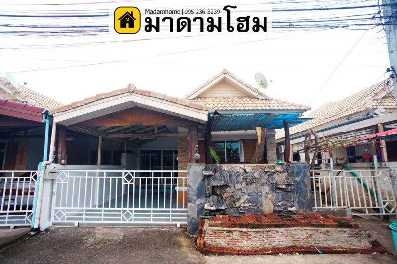 บ้านอยุธยา หมู่บ้านรักไทย ซอยวัดสุทธิ ข้างบิ๊กซี บ้านมือสองอยุธยา บ้านมือ2อยุธยา มาดามโฮมอยุธยา