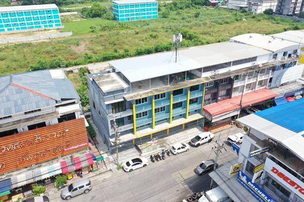 ขายอาคารพาณิชย์ 4 คูหาติดกัน ทำเลทองตลาดไท คลองหลวง (ซื้อเป็นคู่ได้) ปรับปรุงแล้ว พร้อมเข้าอยู่