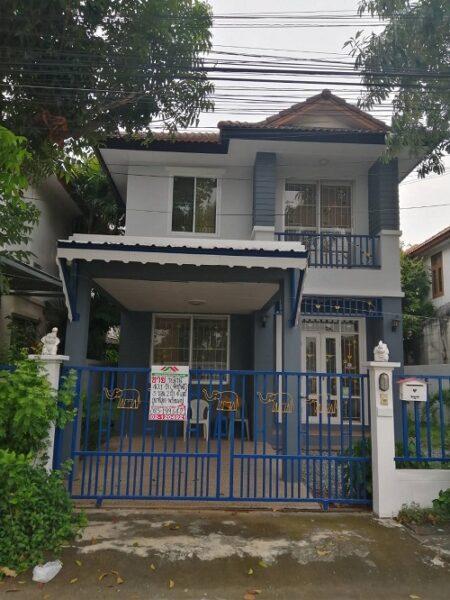 ขายบ้านเดี่ยว 40.5 ตรว. ม.ปารวีร์ เพชรเกษม63 ซ.กาญจนา3 สภาพสวย หน้าบ้านมาชนใคร เส้นเมนติดต่อ0828915462