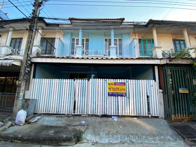ทาวน์เฮ้าส์ หมู่บ้านบัวทอง4 (คุณาภัทร) บางบัวทอง นนทบุรี