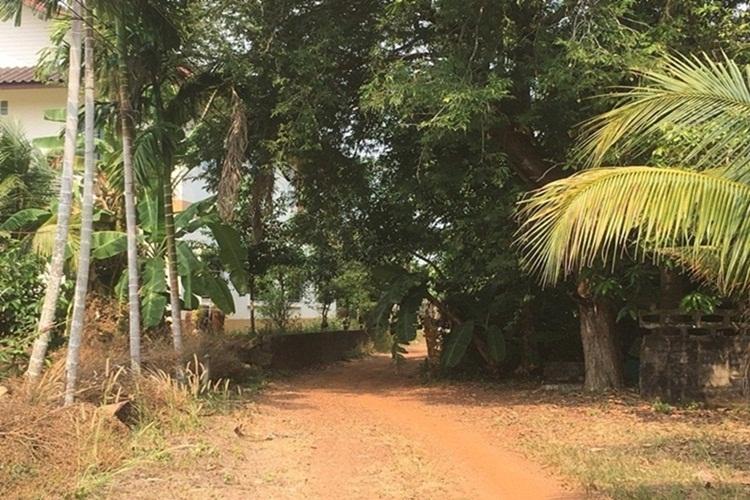ขายที่ดิน 4 ไร่ พร้อมสิ่งปลูกสร้าง ใกล้ถนนสุขุมวิท ขลุง จันทบุรี