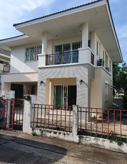 B781 ให้เช่าบ้านเดี่ยว2ชั้น หมู่บ้านธัญรดา ถนนเพิ่มสิน เขตสายไหม มี 3ห้องนอน 3ห้องน้ำ เนื้อที่ 53 ตรว ค่าเช่า 14,500 บาท