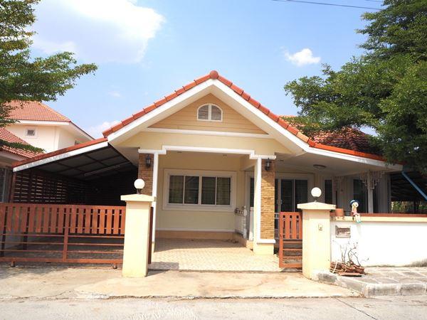 บ้านเดี่ยว 1 ชั้น เนื้อที่ 75.5 ตร.ว ม.ลลิษา เนเชอรัลโฮม เมืองลพบุรี