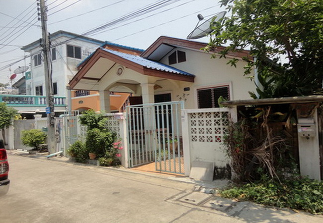 ขายบ้านเดี่ยว ซอยขจรวิทย์ กม. 9 ถนนเทพารักษ์ อ.บางพลี จ.สมุทรปราการ