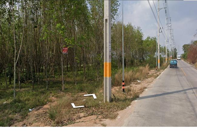 ขาย ที่ดิน ทางหลวงชนบท รย.3013 ถนนมาบยางพร อ.ปลวกแดง จ.ระยอง