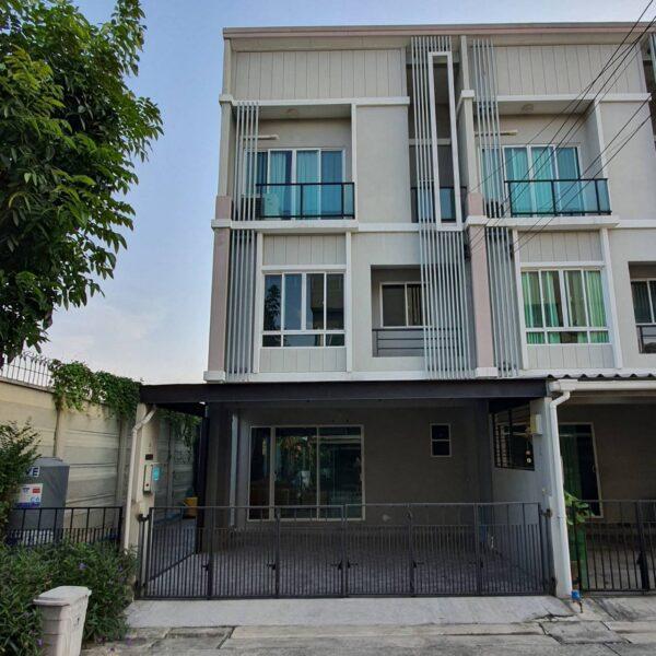 ขาย Townhome 3 ชั้น หมู่บ้าน Patio พัฒนาการ38 สวนหลวง กรุงเทพ โทร 089-7626160