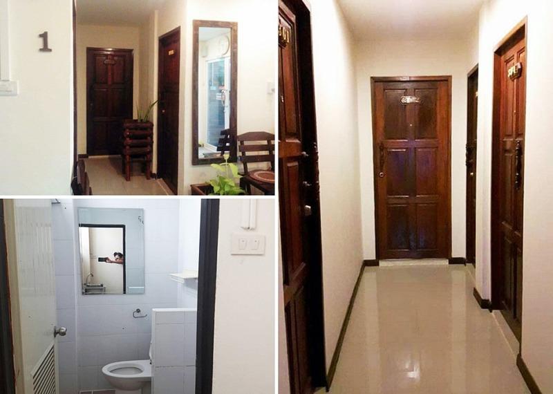โฮสเทลย่านวงเวียนใหญ่ เรือนกุหลาบวิลล่า บูติคโฮสเทล ห้องพักรวม 15 ห้อง (ห้องน้ำในตัว) ใกล้ BTS วงเวียนใหญ่