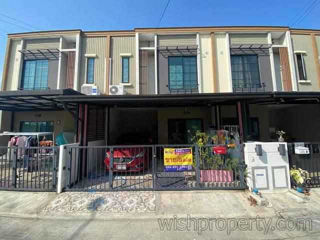 บ้านทาวน์เฮ้าส์ 2 ชั้น เดอะคอนเนค สุวรรณภูมิ 4 (The Connect Suvarnabhumi 4) ใกล้บางนา