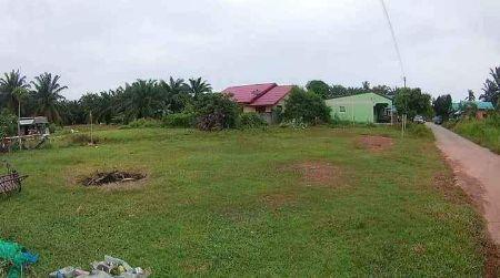 ขาย ที่ดิน เปล่า แบ่งขาย ใกล้โรงพยาบาล สถานีตำรวจ 120 ตร.วา