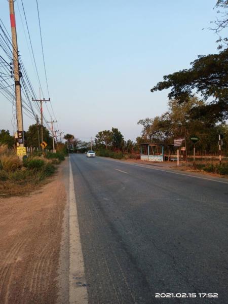 ที่ดิน 37 ไร่ ติดถนนใหญ่ (ทางหลวงสนามชัย-หนองคอก) ต.ลาดกระทิง อ.สนามชัย จ.ฉะเชิงเทรา