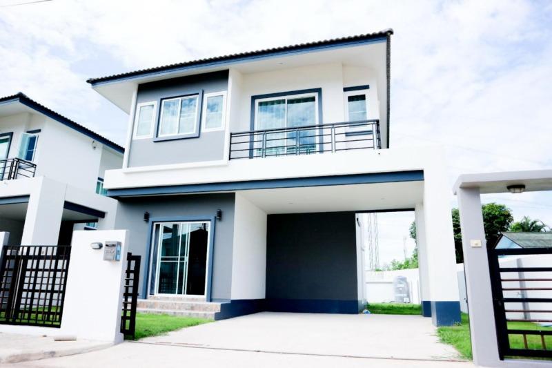 บ้านให้เช่า : บ้านเดี่ยว 2 ชั้น 3 นอน 3 น้ำ 2.5 กม.จากเซ็นทรัลเฟส ถ.สันทรายเก่า