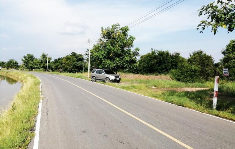 ที่ดิน 65-2-55 ไร่ ติดถนนนตลาดเกรียบ-วัดยม ห่างจากเส้น347 เพียง640ม. ใกล้พระมหาจักรพรรดิ์ โพธิสัตว์กวนอิม บางปะอิน จ.อยุธยา