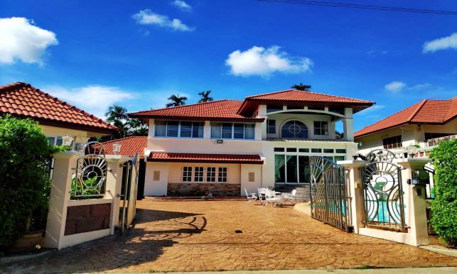 บ้านให้เช่า : บ้านพร้อมสระว่ายน้ำส่วนตัว โซนหางดง