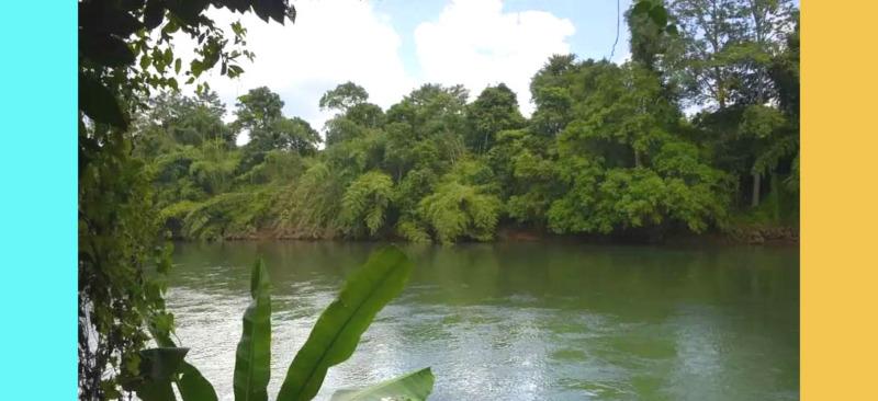 ขายที่ดินติดแม่น้ำแควน้อย กาญจนบุรี อยากย้ายประเทศ