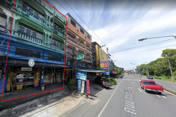 ขายถูกเหลือเชื่อ !! ตึกแถว 2 คูหา 3.5 ชั้น ติดถนนศุขประยูร เชื่อม บายพาส-เฉลิมไทย ใกล้นิคมอมตะนคร