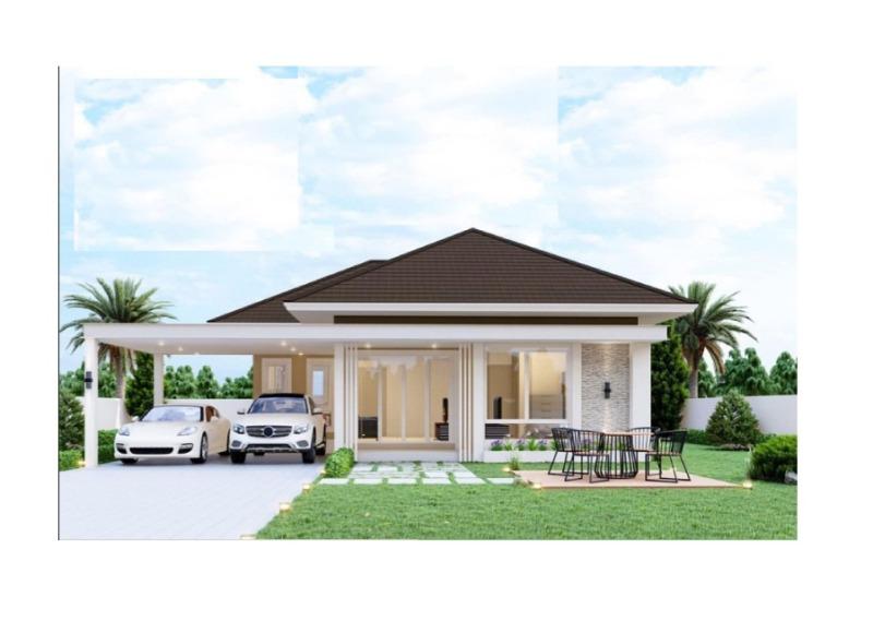 ขายบ้านสร้างใหม่ 3.5 กม. จากเชียงใหม่ 89 พลาซ่า (ถ. เชียงใหม่ – ลำพูน)
