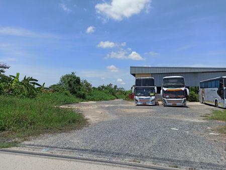 ขาย ที่ดิน ติดถนนหลวงแพ่ง ที่ดินเปล่า ลาดกระบัง 16 ไร่ ห่างจากตลาดเทิดไท ประมาณ 400 เมตร