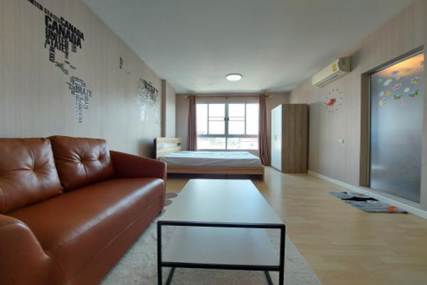 ให้เช่า คอนโด D Condo รามคำแหง 64 30 ตรม. ห้องแต่งใหม่ทั้งห้อง